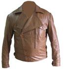 Herren stilvolle weichen Anilin-Leder-Jacke