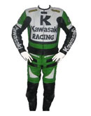 Kawasaki R Racing 1 Motorrad Lederkombi