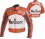 Marlboro Voraus Motorrad Lederjacke