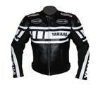 Stilvolle Yamaha Motorrad Lederjacke