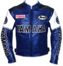 Yamaha Motorrad Rindsleder Jacke
