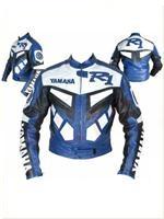 Yamaha R1 Motorrad Lederjacke