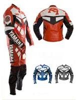 Yamaha R1 rot Motorrad Lederkombi
