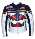 Red Bull veste moto de course