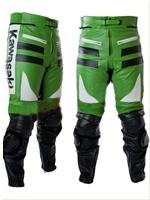 Kawasaki Motorcycle Leather Trouser
