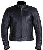 Black Biker Racing jacket