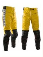 Yamaha Yellow Color Motorcycle Leather Pant