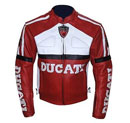 Stylish Ducati Leather Biker Racing Jacket