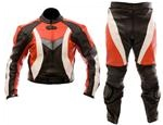 Dirt bike motocross one 1 piece leather suit
