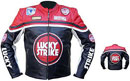 Lucky Strike Motorcycle jacket Red