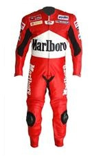 Marlboro one piece motorcycle leather racing suit