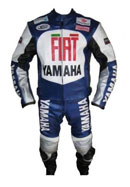 Yamaha FIAT Motorcycle Racing Leather Suit