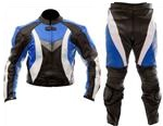 biker racing 2 pc leather suit
