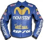 Honda Movistar Leather Jacket