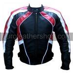 stylish colour ladies motorbike leather jacket
