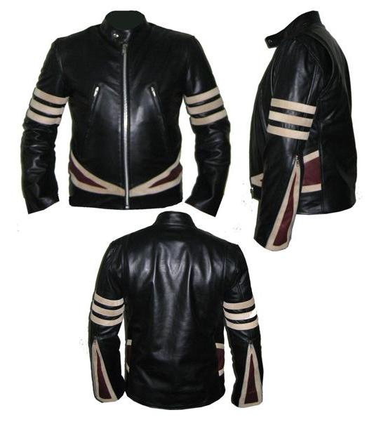 Aniline Leather Jacket - Jacket