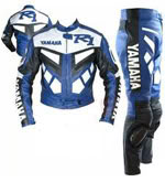 YAMAHA R1 Motorbike Riding Leather Suit